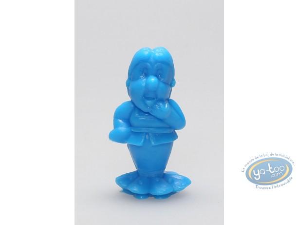 Figurine plastique, Astérix : Mini Bonemine (bleu)