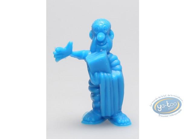 Figurine plastique, Astérix : Mini L'avocat Titus Residus (bleu)