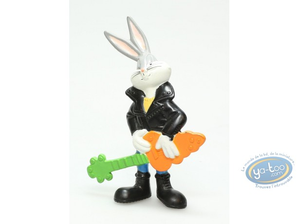 Figurine plastique, Bugs Bunny : Bugs Bunny rocker