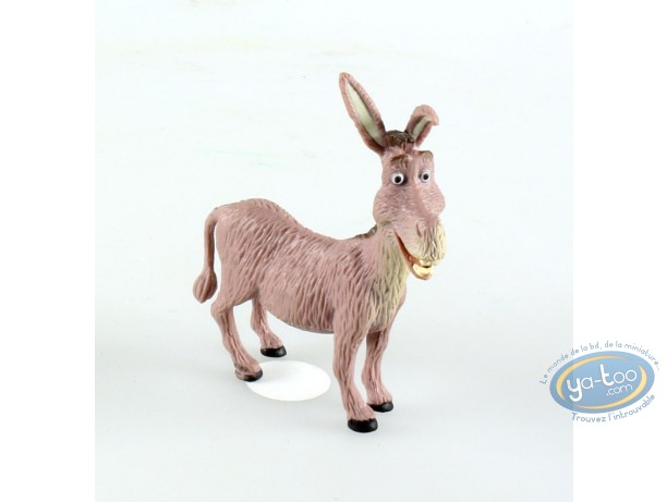 Figurine plastique, Shrek : L'âne Donkey, l'ami de Schrek