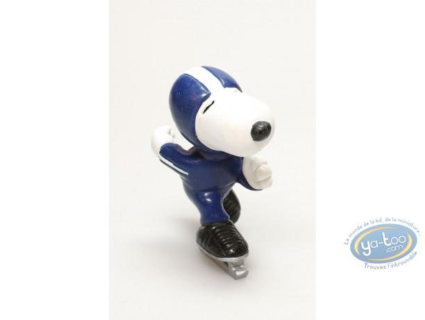 Figurine plastique, Snoopy : Snoopy patine