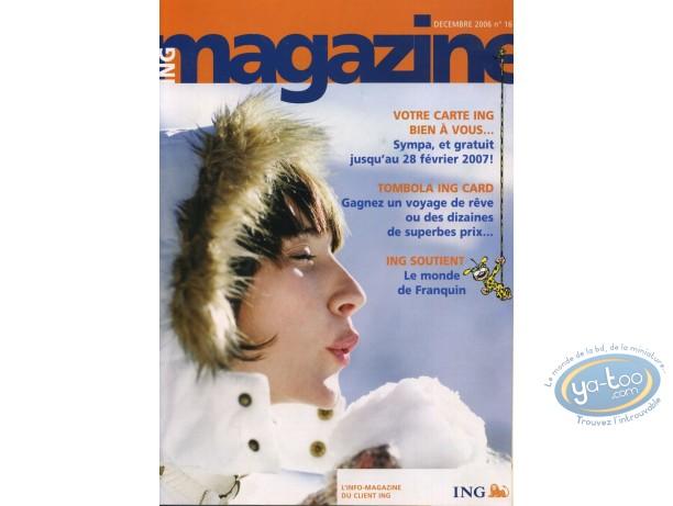 Catalogue, Spirou et Fantasio : Décembre 2006 - Le monde de Franquin