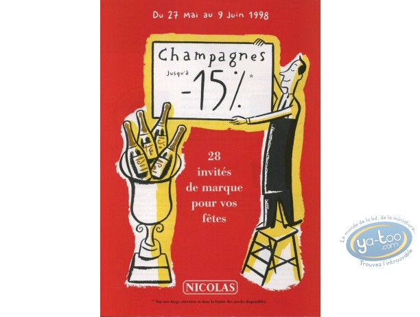 Catalogue, Monsieur Jean : Catalogue Dupuy-Berbérian, Caviste Nicolas illustré par Dupuy Berberian