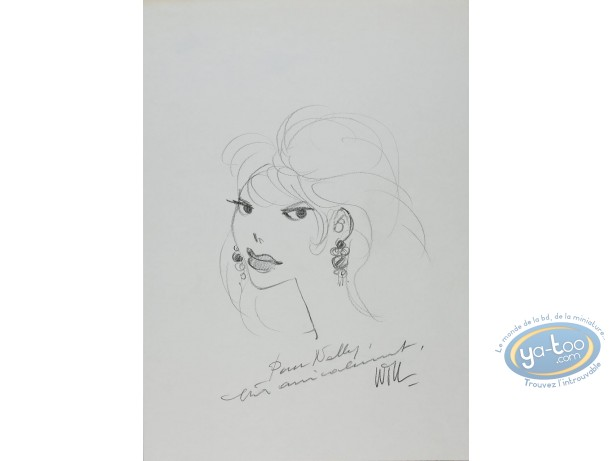 Originaux, Isabelle : Portrait de Calendula