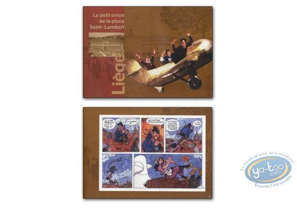 Album de Luxe, Petit Avion (Le) : Le petit avion de la place Saint-Lambert