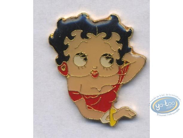 Pin's, Betty Boop : Portrait