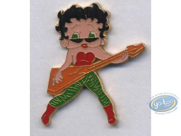 Pin's, Betty Boop : Guitare