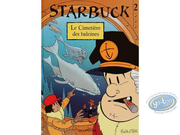 BD occasion, Starbuck : Le cimetière des baleines