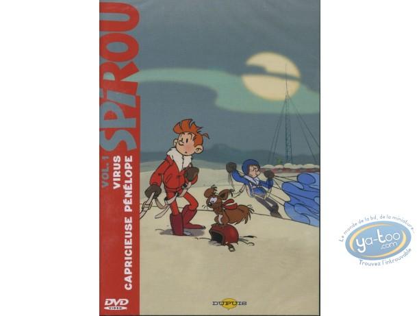 DVD, Spirou et Fantasio : Virus + Capricieuse Pénélope
