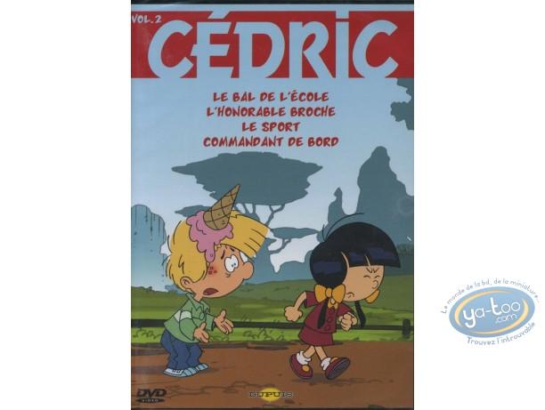 DVD, Cédric : Volume 2 - 4 épisodes