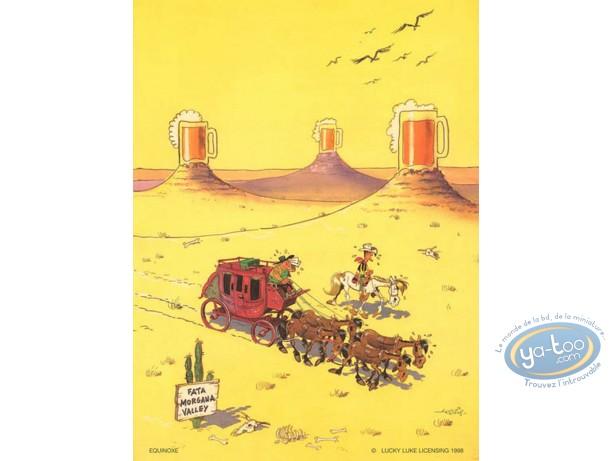 Affiche Offset, Lucky Luke : Mirage