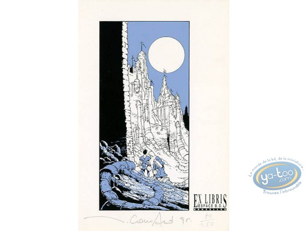 Ex-libris Sérigraphie, Edinalta : Le canyon