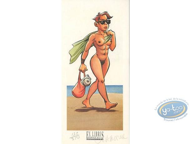 Ex-libris Offset, Minoukinis (Les) : Nudiste