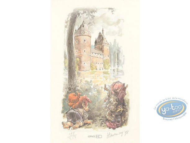 Ex-libris Offset, Prince des Ecureuils (Le) : Lutins