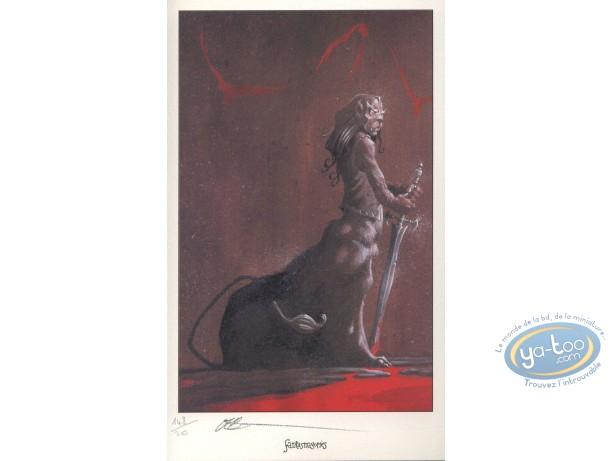 Ex-libris Offset, Joe : Centaure