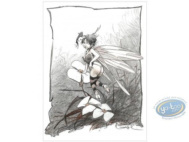 Affiche Offset, Peter Pan : Fleurs
