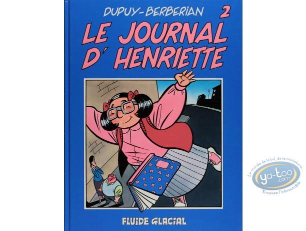 BD cotée, Journal d'Henriette (Le) : Le Journal d'Henriette, Tome 2