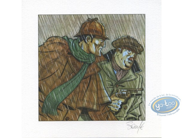 Ex-libris Offset, Sherlock Holmes : Sherlock & Watson