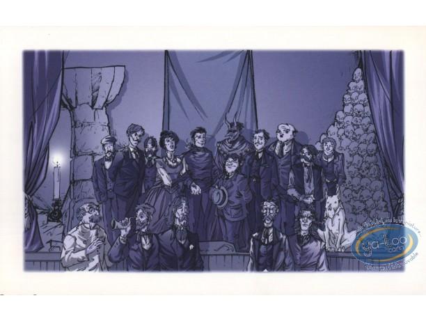 Ex-libris Offset, Ombre de l'Echafaud (L') : Portrait de famille