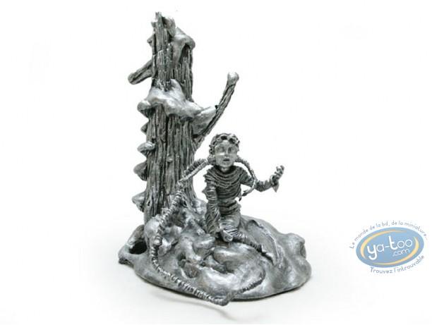 Statuette résine, Gorn : Maëlle monochrome