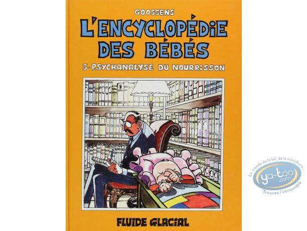 BD cotée, Encyclopédie des Bébés (L') : L'encyclopédie des bébés, Psychanalyse du Nourrisson