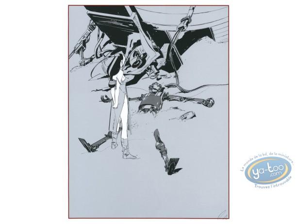 Affiche Sérigraphie, Chants Magnétiques : Chants Magnétiques Recupération 1