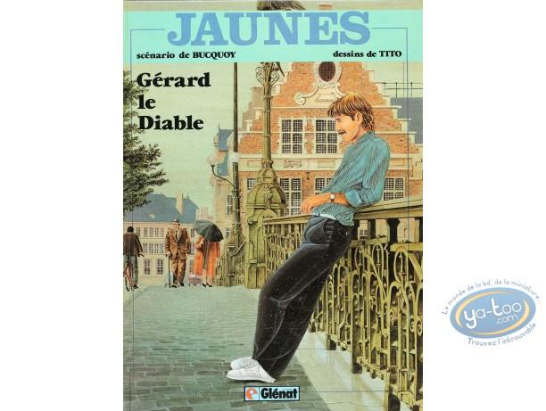 BD cotée, Jaunes : Jaunes, Gérard le Diable