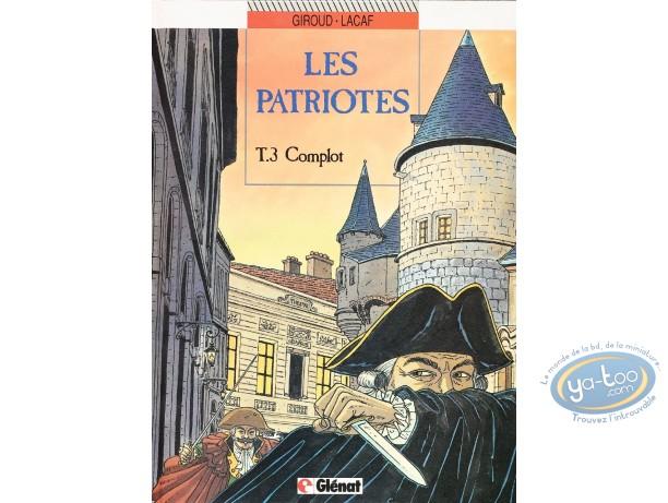 BD occasion, Patriotes (Les) : Complot