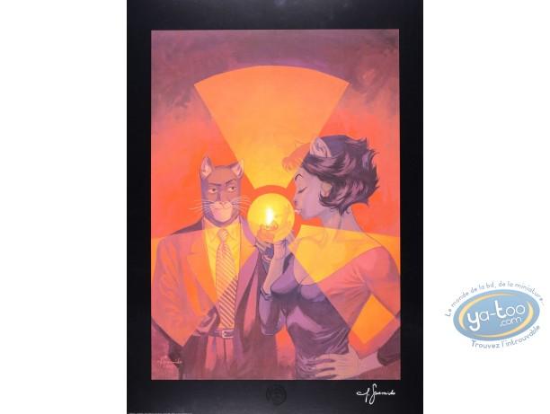 Affiche Offset, Blacksad : Ame Rouge