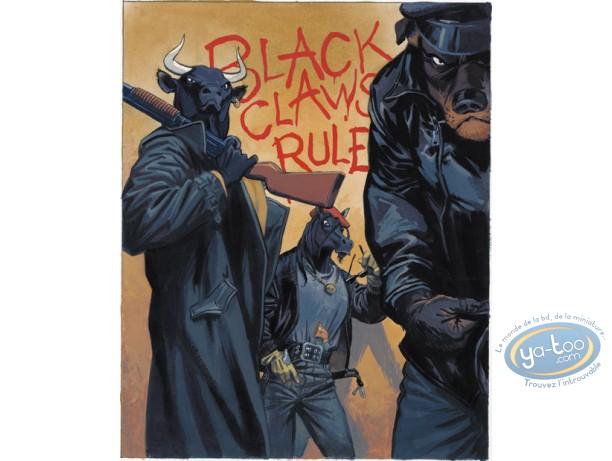 Affiche Offset, Blacksad : Black Claws