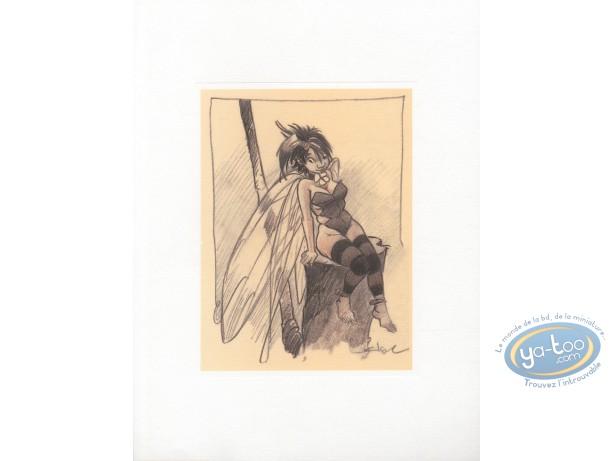 Affiche Offset, Peter Pan : Fée Clochette 1