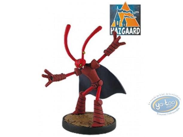 Figurine métal, Donjon : Marvin Rouge en Armure