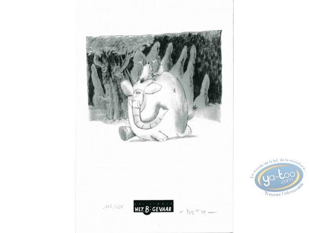 Ex-libris Offset, Zorilles (Les) : Eléphant