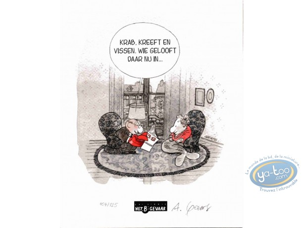 Ex-libris Offset, Monde Cruel : Sirène