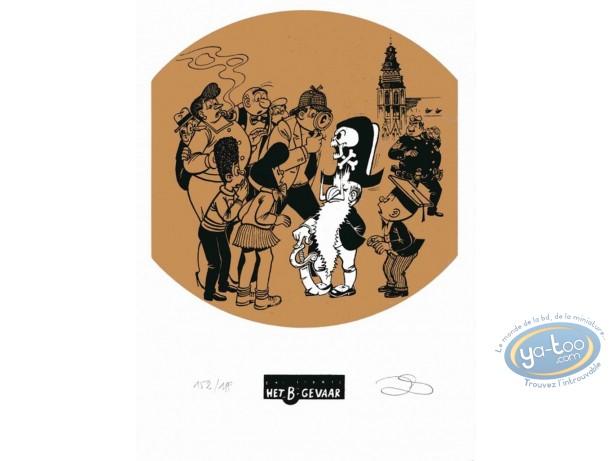 Ex-libris Sérigraphie, Néron : Le pirate
