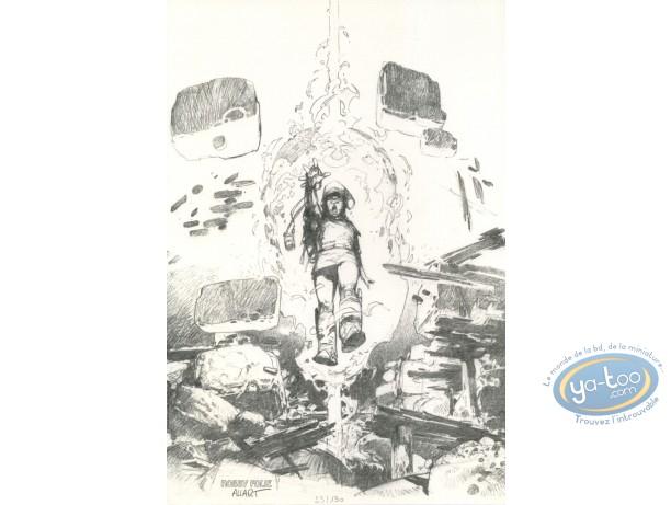 Ex-libris Offset, Pandora : Magie