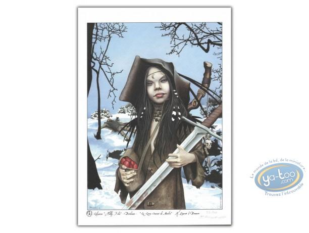 Ex-libris Offset, Livre Secret de Merlin (Le) : Morgane jeune