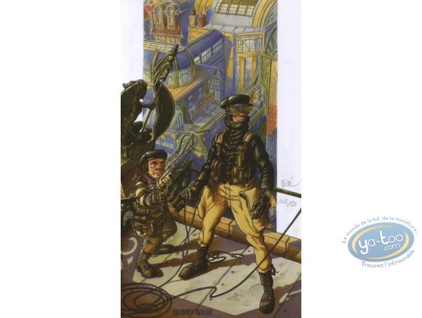 Ex-libris Offset, Réseau Bombyce (Le) : Sur les toits