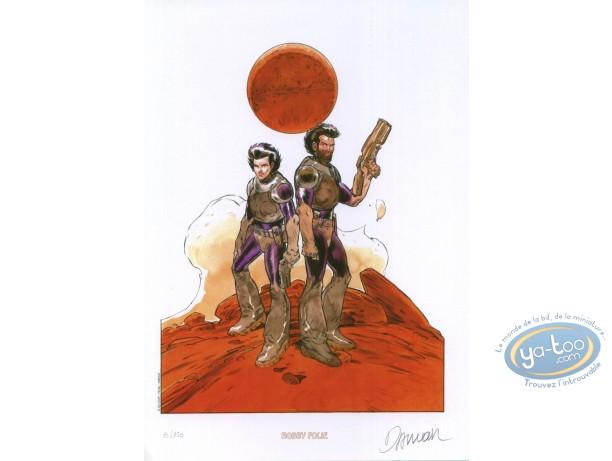 Ex-libris Offset, Nash : Sur Mars
