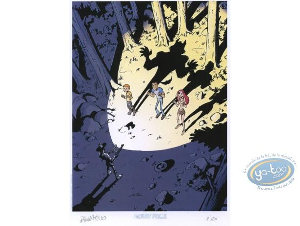 Ex-libris Offset, Outre Tombe : Forêt et ombres