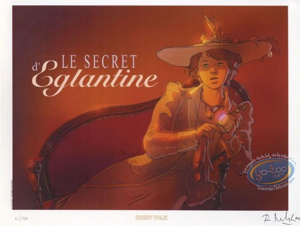 Ex-libris Offset, Voyages de Kaël (Les) : Le Secret d'Eglantine