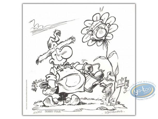 Ex-libris Offset, Achille Talon : Fleur de misère
