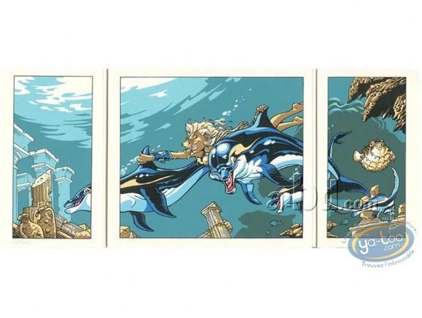 Affiche Sérigraphie, Atalante : Atalante, Crisse