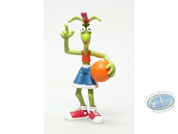 Figurine plastique, Basket fever : Sauterelle joueur de basket