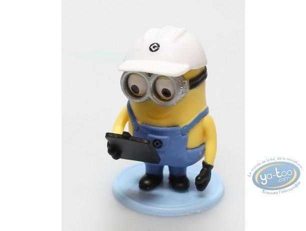 Figurine plastique, Minions (Les) : Minion travailleur