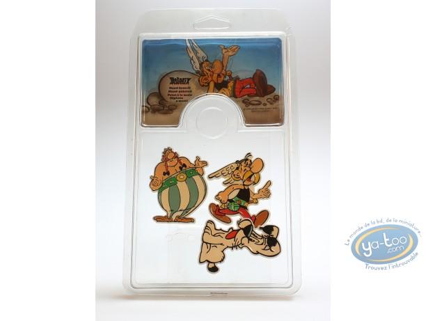 Mode et beauté, Astérix : Assortiment de 3 broches Astérix, Obélix et Idéfix
