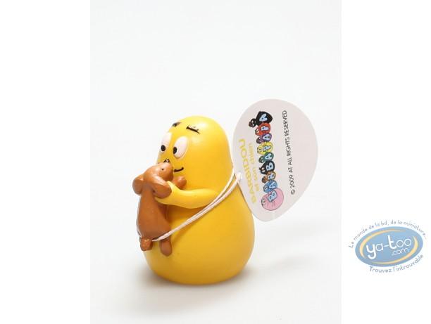 Figurine plastique, Barbapapa : Barbidou avec chien