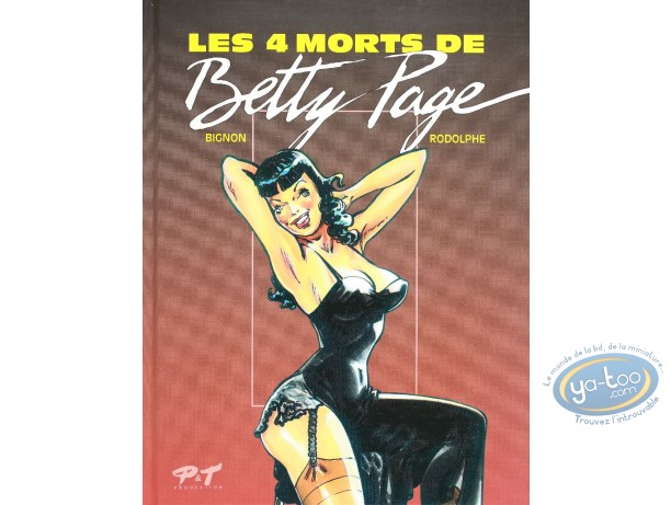 BD occasion, Betty Page : Les 4 morts de Betty Page