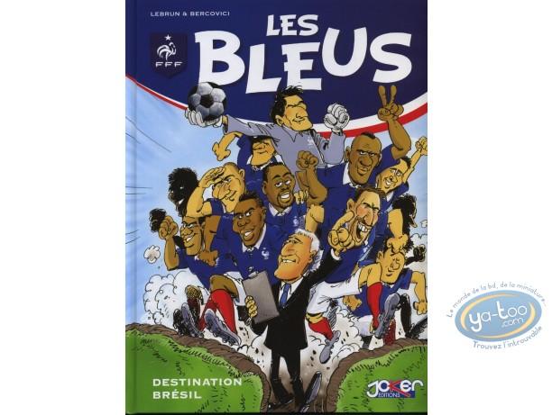 BD neuve, Bleus (Les) : Destination Brésil