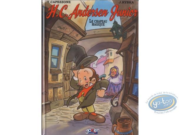 BD prix réduit, H.C. Andersen junior : H.C. Andersen junior : Le chapeau magique